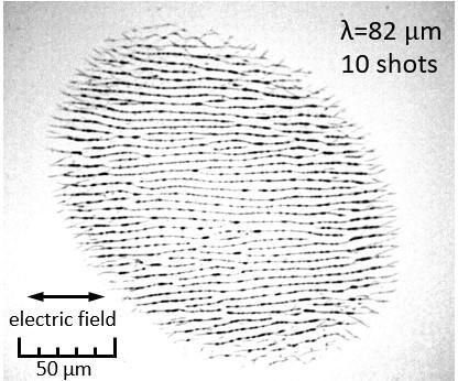 レーザー照射の定説を覆す最小材料加工に成功