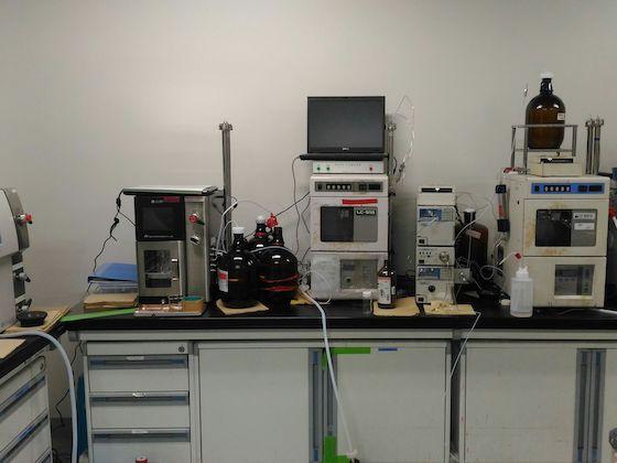 分取用液体クロマトグラフィー(preparative GPC) :日本分析工業/LC-918, LC-9201S, next, next, LaboACE