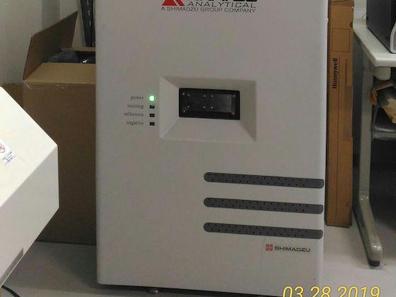 マトリックス支援レーザー脱イオン化/飛行時間型質量分析計(MALDI-TOF-MS):島津製作所 / AXIMA-CFR